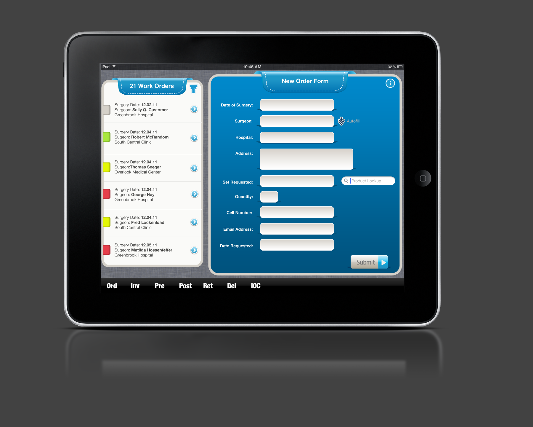 SAP iPad Form - Mobile Application for SAP - Excellis Interactive