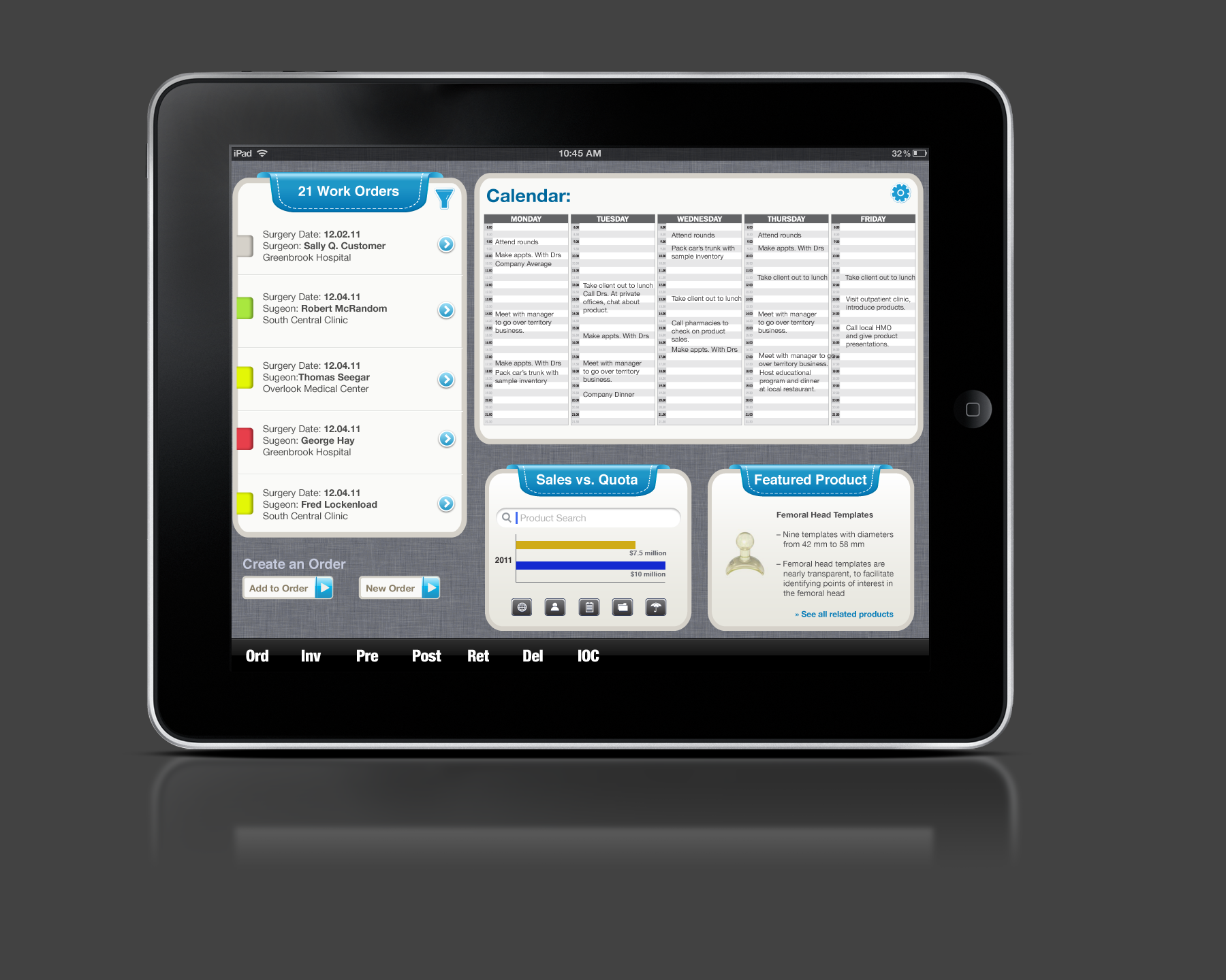 SAP iPad Application by Excellis Interactive