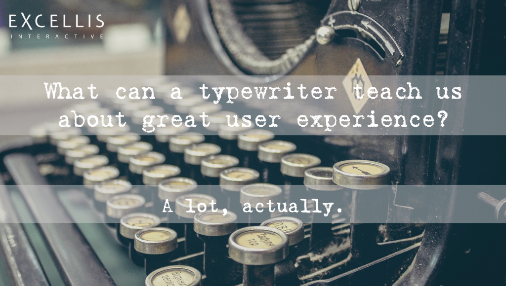 Typewriter Great User Experience